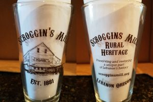 Scroggins Mill Pint Glass